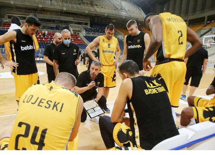 AEK starto FIBA Čempionų lygoje turės palaukti