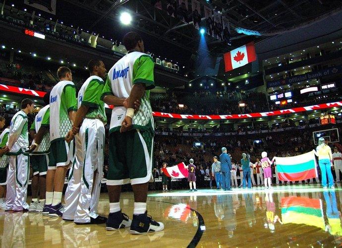 """""""Žalgiris"""" yra pabuvojęs ir ant NBA parketo"""
