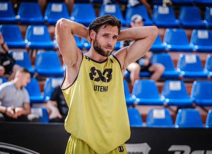 D.Tarvydas gali persikelti į Jonavą (FIBA nuotr.)