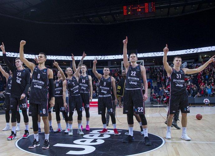 """""""Rytas"""" tarptautinį sezoną pradėjo puikia pergale (BNS nuotr.)"""