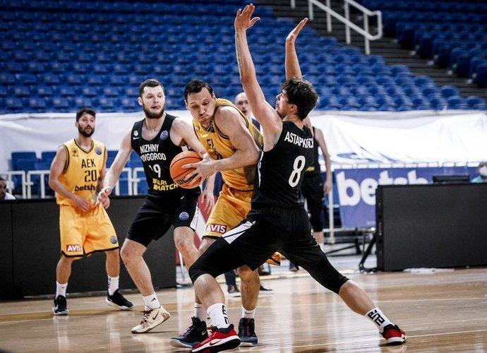 J.Mačiulis sumetė lemiamus baudų metimus (FIBA Europe nuotr.)